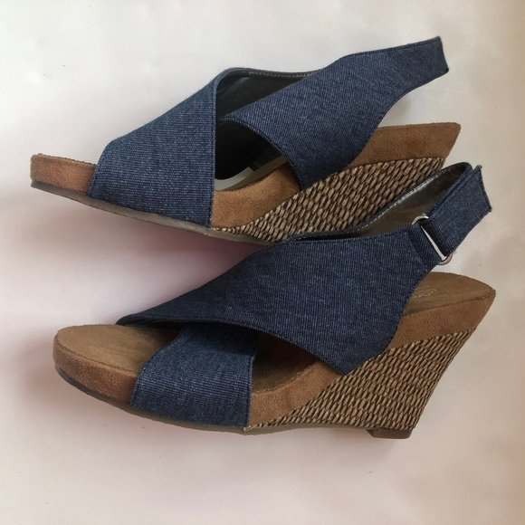 Aerology By Wedge Sandals Nwot